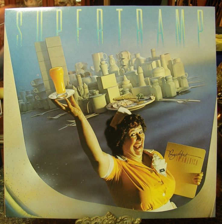 #6162 SUPERTRAMP BREAKFAST IN AMERICA ALBUM #SoftRock