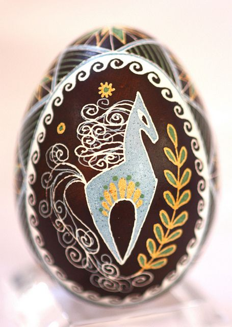 I adore this horse chicken egg