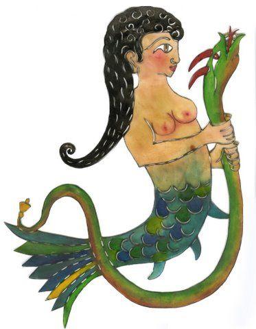 Shadow puppet from Turkey: Denizkızı-Mermaid | Flickr - Photo Sharing!