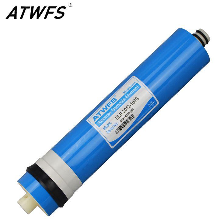 New ATWFS 100 gpd RO Membrane Water Purifier Osmosis Membrane Reverse Osmosis System Water Filter Cartridge