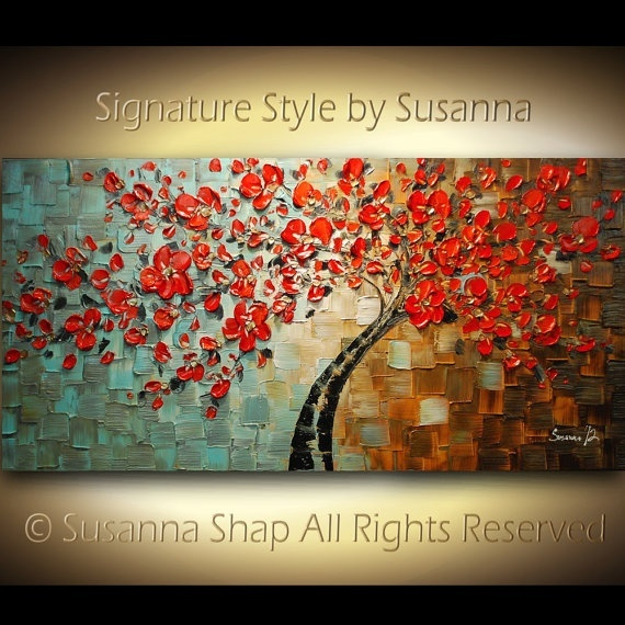 Signature Style by Susanna: Red Bloom, Red Trees, Artsy Things, Signature Style, Art Photography, Fine Art, Art Copado, Knifes Paintings, Knives