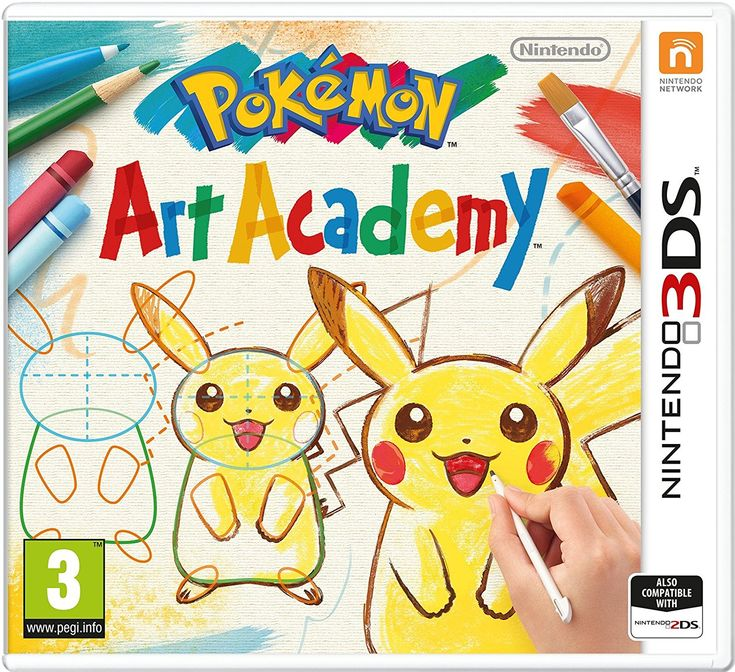 Image result for pokemon art academy