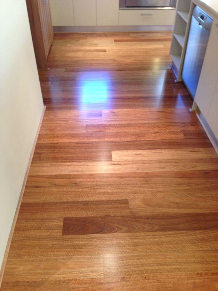 Spotted gum floor