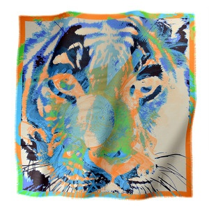 #Tiger scarf by LOUP NOIR