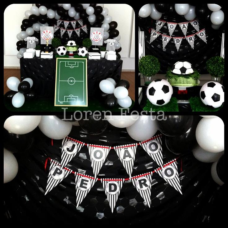 Festa futebol Corinthians.