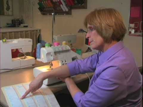 """The """"Secret"""" to taming your Serger! Great video tutorial on setting up a serget tension guide."""