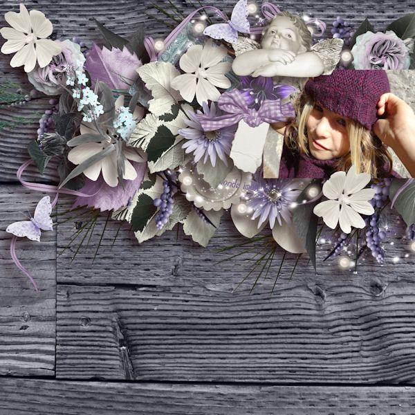 """Purple Sweetness"" by JosyCreations Scheidt et Scrap'Angie Photo de Caroline Scrap www.digi-boutik.c... Photo de Caroline Scrap www.digi-boutik.c..."