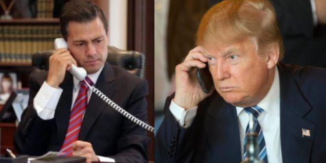 ] WASHINGTON, DC. * 03 de agosto de 2017. Vanguardia El diario estadounidense Washington Post reveló una transcripción de la llamada que los presidentes de Estados Unidos y México, Enrique Peña Nieto y Donald Trump, tuvieron el pasado 27 de enero. Esta llamada se da en el contexto de un reciente...