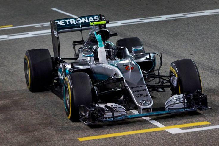 Cars - F1 - GP de Bahreïn : Nico Rosberg s'impose, Romain Grosjean 5ème ! - http://lesvoitures.fr/f1-gp-de-bahrein-nico-rosberg-simpose-romain-grosjean-5eme/