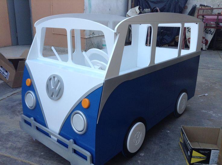 Cuna para Bebe Personalizada  Combi VW