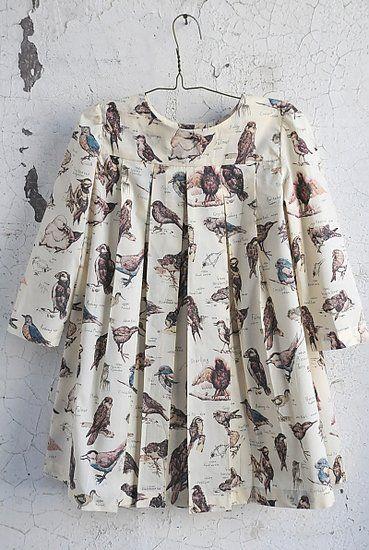 Sailor Rose bird dress, so sweet!! @Stephanie Vanderschie, we need to find something like this for little birdie!!