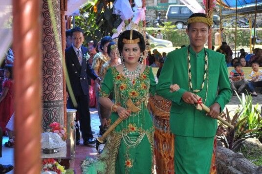 Toraja bride-groom