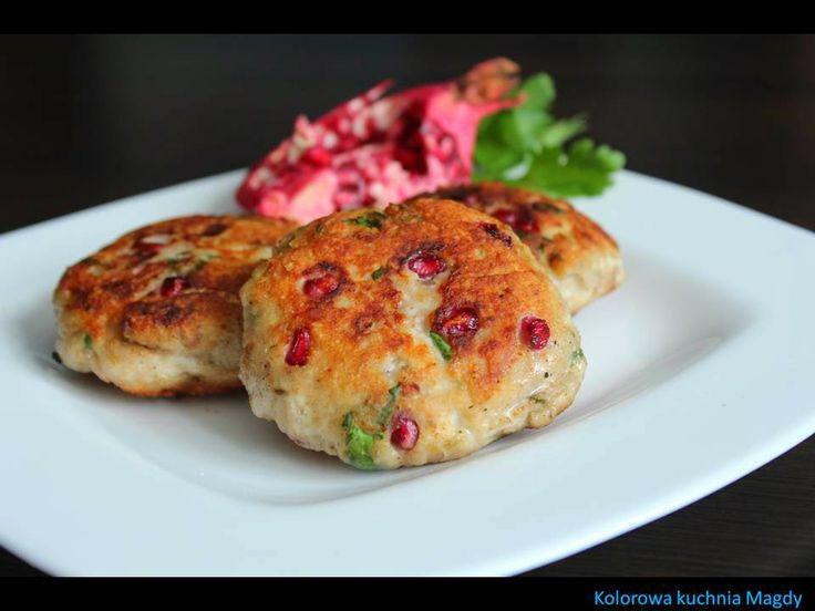 Kolorowa Kuchnia Magdy: Orientalne kotlety mielone z granatem
