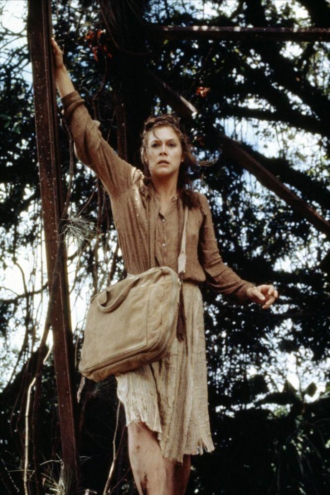 Joan Wilder (Kathleen Turner): Romancing the Stone