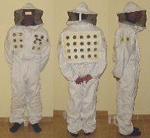 Fato apicultor extra ventilado, de pano duplo XXL