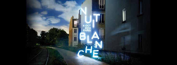 NUIT BLANCHE, Paris le 04 octobre. Programme de Paris / IDF, ici :