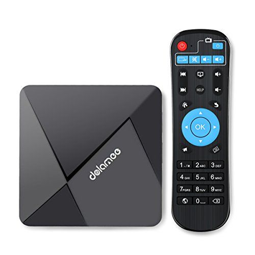 [Pure Version]XEDIRECT Android 6.0 TV Box , 4K WiFi Android Box DOLAMEE D5 Quad Core True 4K Playing with Learning Remote | Streaming Media Player Reviews