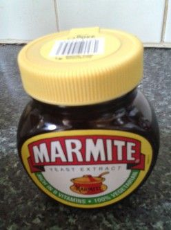 Marmite Yeast Extract - Can You Live Without it?   A Jar of Marmite on my Kitchen Counter