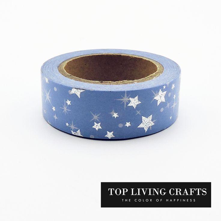 $1.34 (Buy here: https://alitems.com/g/1e8d114494ebda23ff8b16525dc3e8/?i=5&ulp=https%3A%2F%2Fwww.aliexpress.com%2Fitem%2FChristmas-Star-Foil-Washi-Tape-Japanese-Stationery-1-5-10meter-Kawaii-Masking-Tape-Adhesiva-Decorativa-School%2F32743544578.html ) Christmas Star Foil Washi Tape Japanese Stationery 1.5*10meter Kawaii Masking Tape Adhesiva Decorativa School Tools Halloween for just $1.34