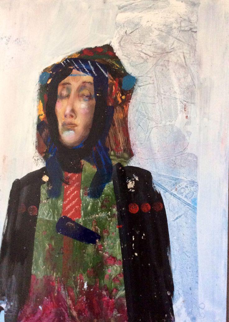 Milan Vavro/ Maria/ oil painting