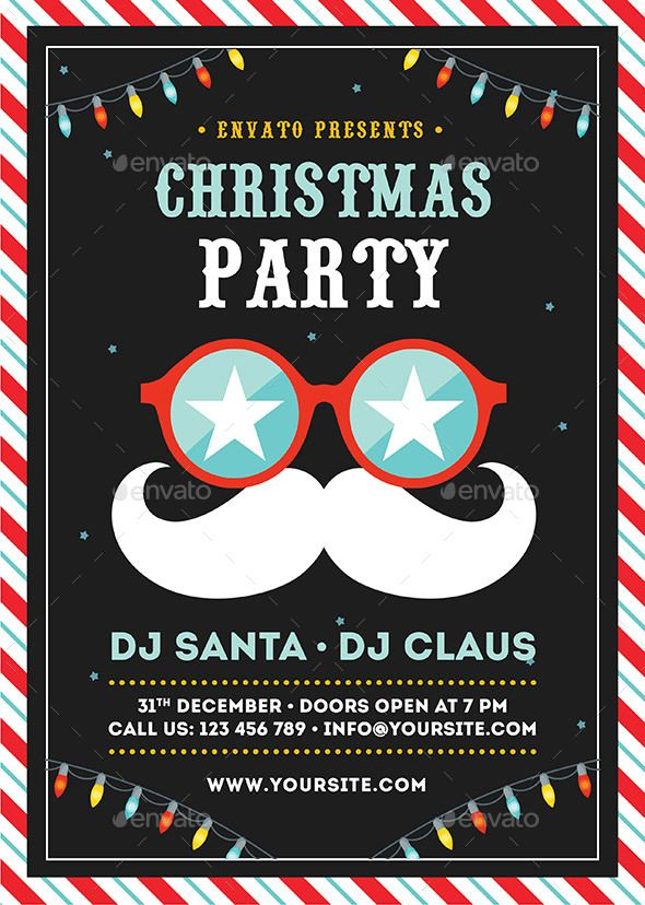 christmas party flyer ideas dolap magnetband co