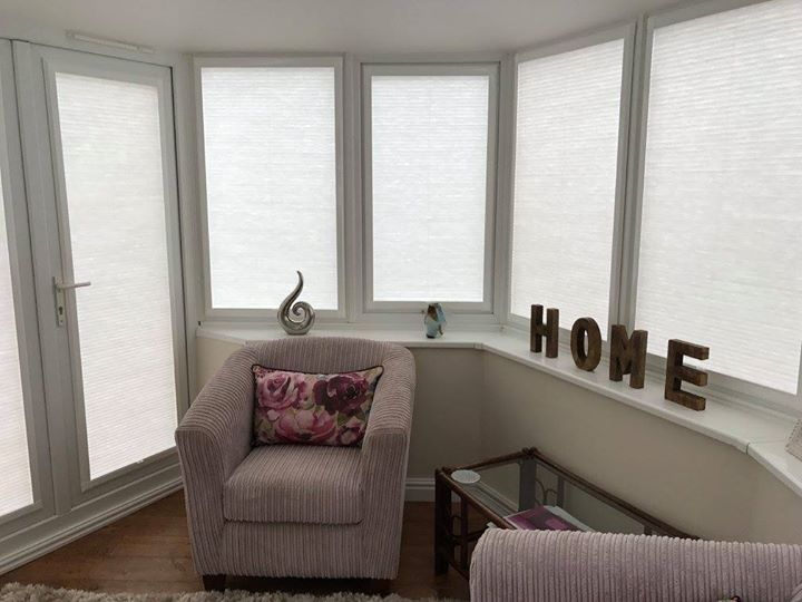 Perfect fit pleated hive thermal blinds an ideal solution to keep the warmth in and the cold out.  Book your own free appointment online http://ift.tt/1ocfyRO or call us 01858 456419