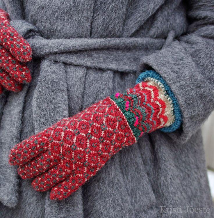 Gloves Knitting Pattern Pinterest : 25+ best ideas about Knitted Gloves on Pinterest Fingerless gloves knitted,...