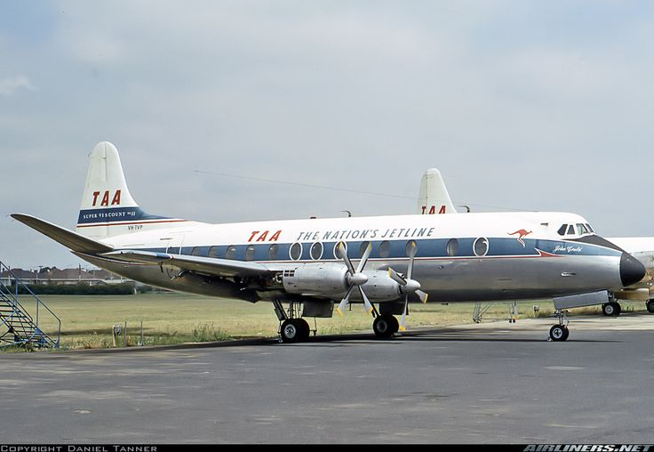 Vickers 816 Viscount - Trans Australia Airlines - TAA | Aviation Photo #3869671 | Airliners.net