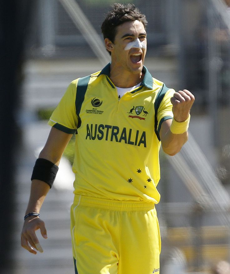 Mitchell Starc Australian Pace bowler
