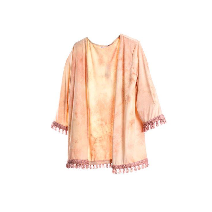 Kimono con flecos