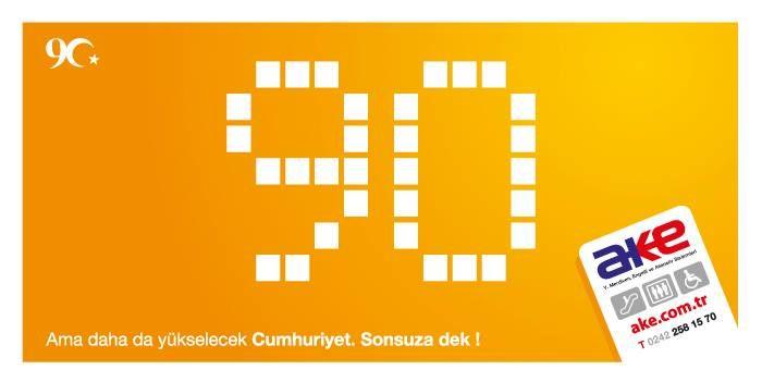 Cumhuriyetimizin 90. Yılı Hepimize Kutlu Olsun!