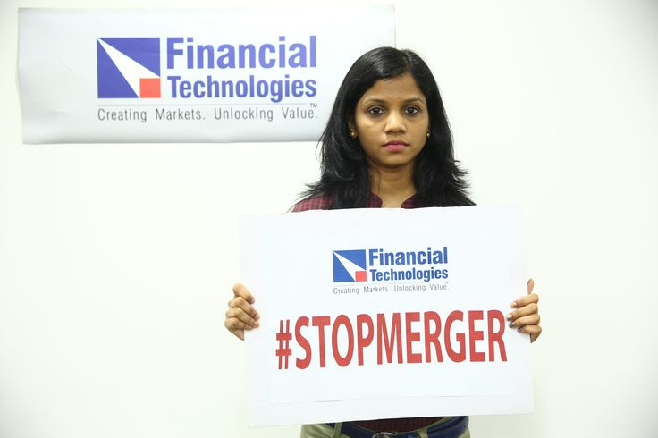 #FTIL Employees protesting against NSEL-FTIL Forced Merger