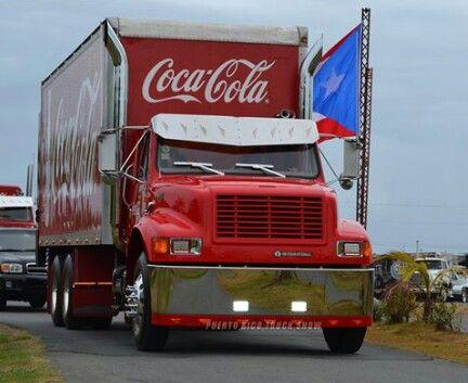 Coca Cola de Puerto Rico Internacional | camion ...