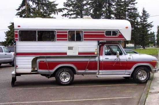 Truck Campers Past | Photo Gallery Vintage Campers – Truck Camper HQTruck Camper HQ