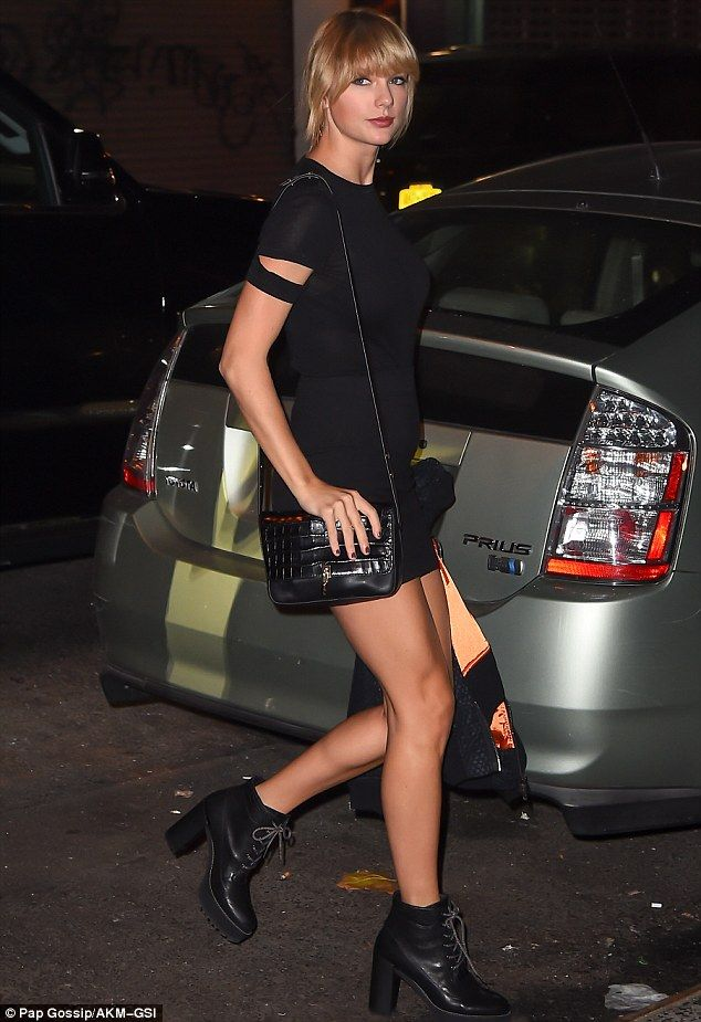 Girls night out: Taylor Swift was spotted heading to the Kings Of Leon concert in New York on Wednesday with her squad Lorde, Suki Waterhouse, Martha Hunt, Cara Delevingne and Lily Donaldson