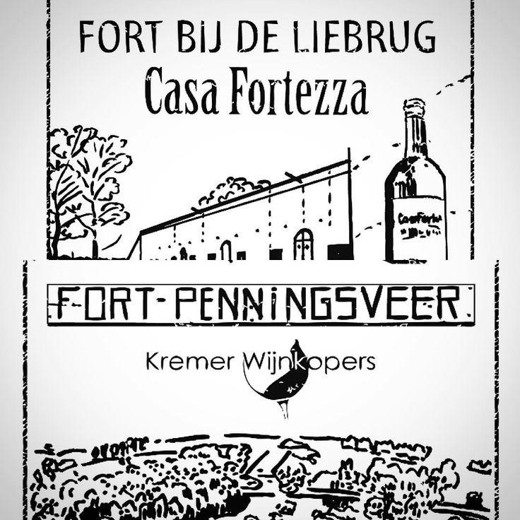 Forten en wijn gaan goed samen: vanmiddag Stampions op je tefefoon zetten bij Fort bij de Liebrug en Fort bij Penningsveer #StellingvanAmsterdam #CasaFortezza #KremerWijnkopers #Haarlemmerliede