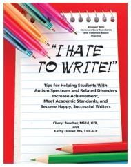 """OT Corner: Book Review – """"I Hate to Write"""" - Pinned by @PediaStaff – Please Visit ht.ly/63sNtfor all our pediatric therapy pins"""