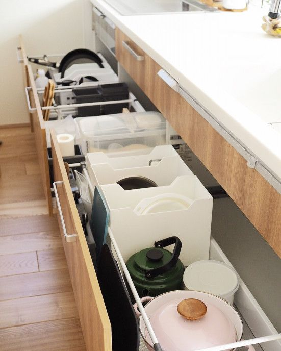 家事道具の息づかいを感じるキッチン