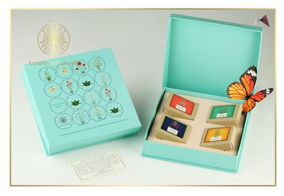 Luxurious collection of soaps from Forest Essentials are perfect to pamper oneself!