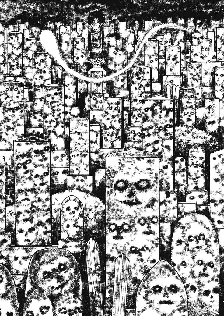 Чтение манги Истории о привидениях от Мими 1 - 3 Очертания лиц с могильных плит - самые свежие переводы. Read manga online! - ReadManga.me