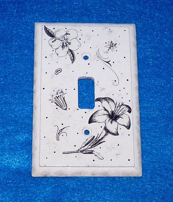 17 Best Images About Crafts Light Switch Covers On