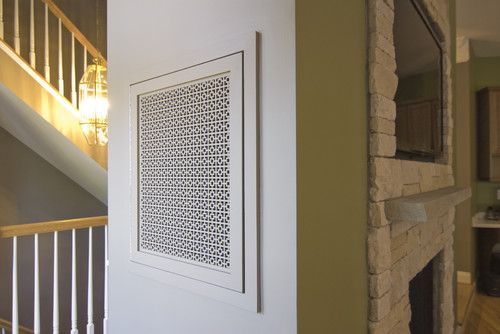 It's easy to be discreet when you've got cabinets, panels and high-tech TV hiders like these.