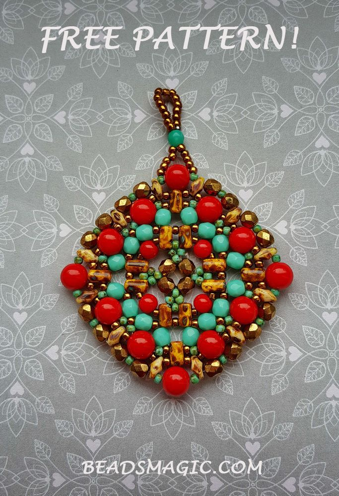 349 best bisuteria colgantespendants 2 images on pinterest free pattern for pendant boho aloadofball Image collections