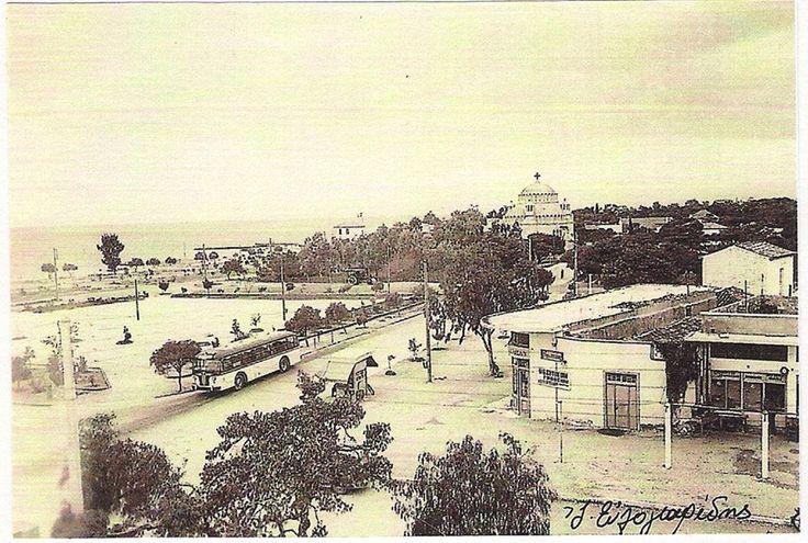 Glyfada's main square, c.1950's