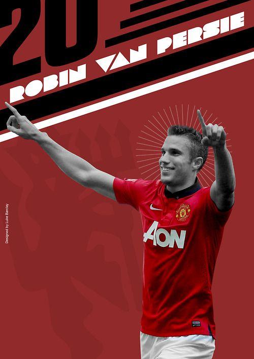 Robin Van Persie by Luke Barclay Design