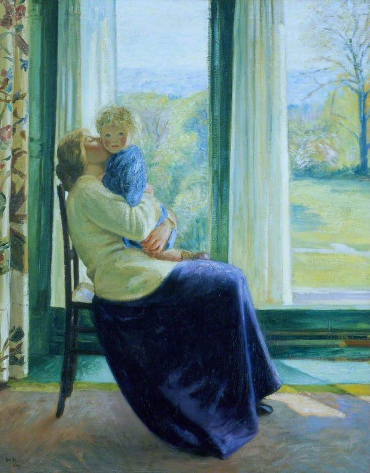 Sir William Rothenstein - Spring, the Morning Room (1910)