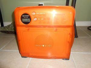 sharp half pint microwave oven. sharp carousel half pint microwave oven orange 2000 model r 120dr sharp half pint microwave oven