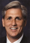 Rep. KEVIN MCCARTHY: CA (R)  Residence: Bakersfield  Marital Status: Married (Judy)  Prev. Occupation: Congressional Aide, Sandwich Store Owner  Prev. Political Exp.: CA Assembly, 2002-06  Education: BS California State University, 1989; MBA California State University - Bakersfield, 1994  Birthdate: 01/26/1965  Birthplace: Bakersfield, CA  Religion: Baptist  Percentage in Last Election: 73%  Major Opponent: Terry Phillips