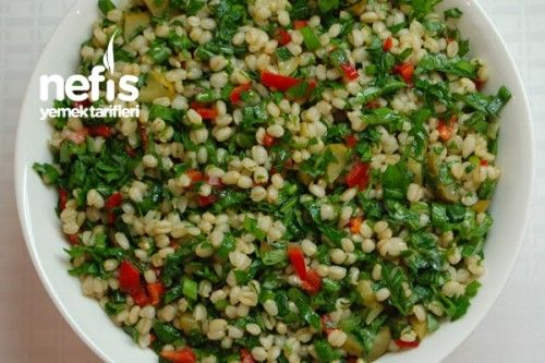 Buğday Salatası Nasıl Yapılır?