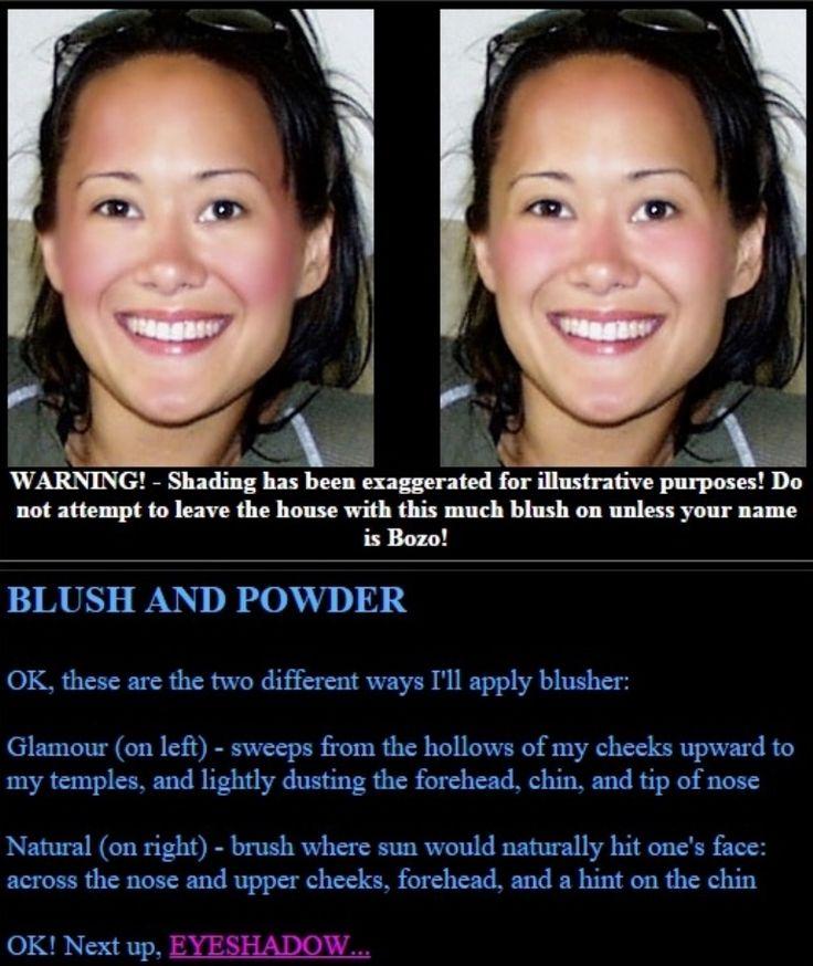 Asia Carrera's Makeup Tricks - Blush and Powder - Blush and Powder (Step 5)